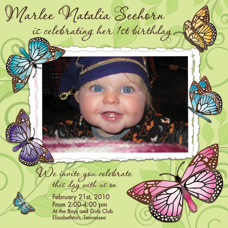 butterfly backgrounds for invitations. A whimsical, soft invitation that shows off your little one. The butterflies