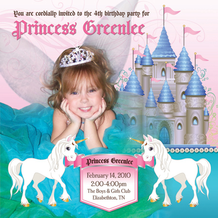 birthday party invites templates. disney princess irthday party