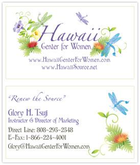 Business card design logo design professional custom designed salon business card hawaii reheart Gallery