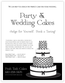 Party & Wedding Cake Designer Flyer