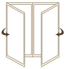 folded gate fold brochure