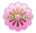 Pink and brown flower button